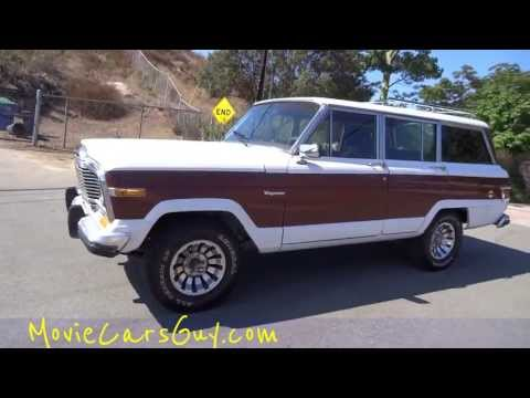 Jeep Movie Cars TV Show Movies Car Grand Wagoneer Film Actor Actors SUV Classic For Sale