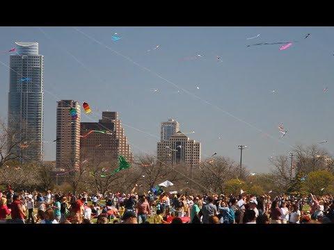 Kite Festival - Zilker Park 2012 Austin Texas