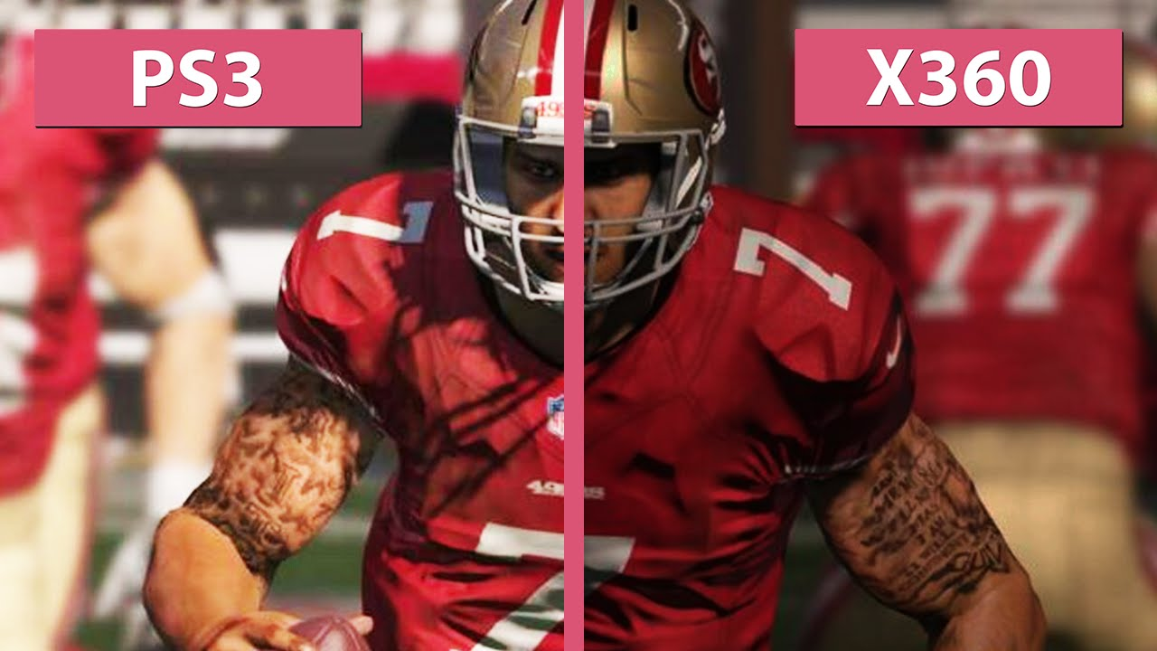 Madden NFL 15 - PS3 vs  Xbox 360 Graphics Comparison  Full HD    Xbox One Graphics Vs 360 Madden
