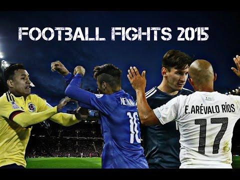 Piłka Nożna Walczy Między Graczami 2015 Część 2 • Walki Piłka Nożna, Fauli Horror