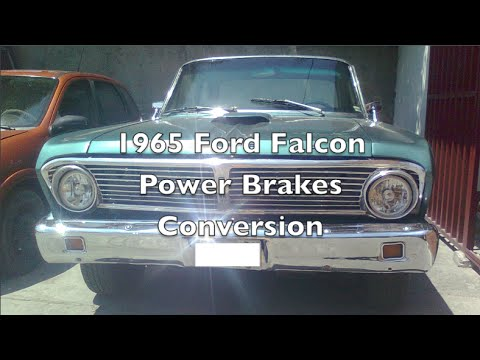 1964 1965 ford falcon power brakes geo metro booster