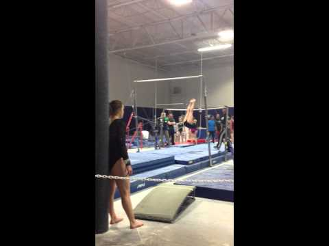 Macie Miller 2017 Gymnastics Level 10 Texas State Championships Bars