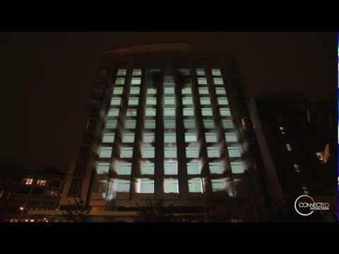 Architectural Projection Mapping - New York - Follow The Wings
