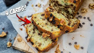 The Best Keto Zucchini Bread Recipe | Chocolate Chip and Walnuts!