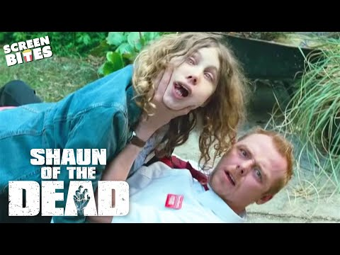 Shaun Of The Dead - She's so drunk. Simon Pegg, Nick Frost, Edgar Wright