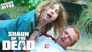 Shaun Of The Dead - She's so drunk. Simon Pegg, Nick Frost, Edgar Wright
