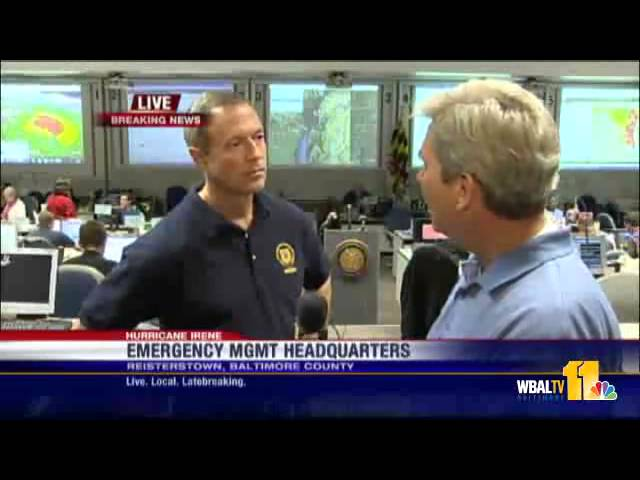 Gov  Martin O'Malley Updates Conditions From MEMA   YouTube