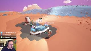 Astroneer - Developer Let's Play #2 (Live from TWITCH!)