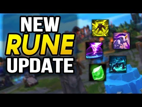 NEW SEASON 8 RUNE/MASTERY REWORKS! Zombie Wards?? (League of Legends)