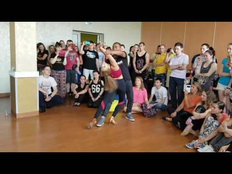 Carlos and Fernanda Zouk Demo Russian Zouk Congress