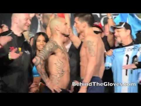 Miguel Cotto & Sergio Martinez WEIGH-IN HIGHLIGHTS