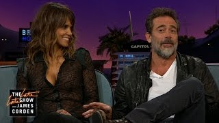 Halle Berry & Jeffrey Dean Morgan Talk Letterman, Selfies