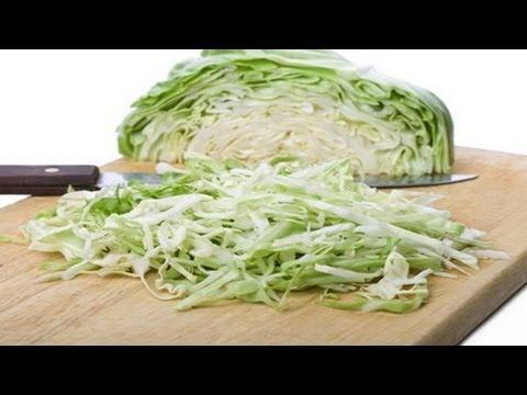 Как приготовить салат из капусты - видео