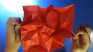 Origami Curved Ear - Table Looking Flasher ( Atharv Goel)