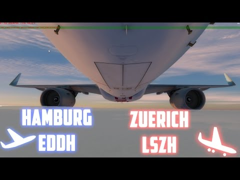 [IVAO] [A320] Onlineday + ZRH Full Staff Night EDDH-LSZH | OnlyFLY