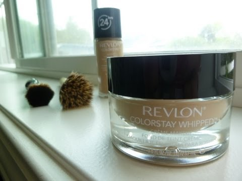 Detailed Revlon CS Whipped Creme Makeup Review/Swatch/Demo - by Bethany