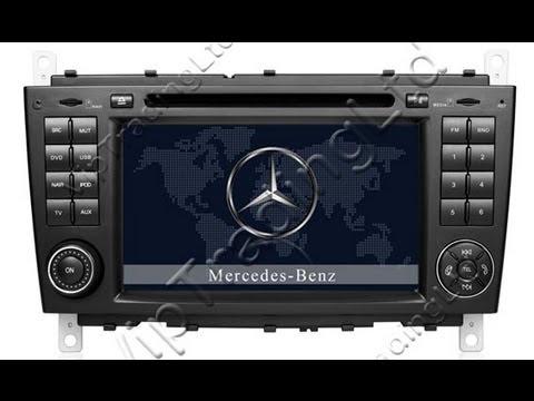 Dvd gps mercedes benz c class w203 clc g class w467 mb for Mercedes benz w203 radio