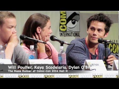 The Maze Runner Cast favorite scenes by Dylan OBrien Will Poulter Kaya Scodelario
