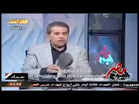 Egyptian Anchor's Epic Hamas Analogy