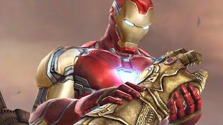 Marvel Future Fight - Avengers Endgame Thanos Boss Battle