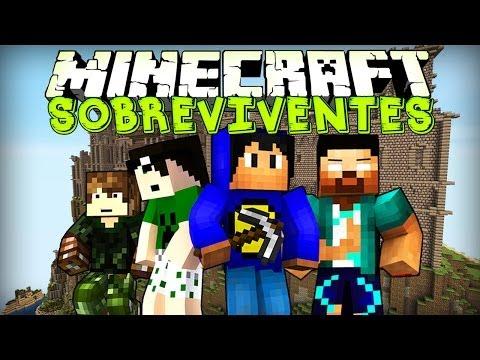 Minecraft: SOBREVIVENTES! (Mega Walls)