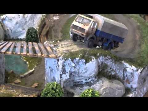 RC Trail Truck 1:87 H0 Eigenbau
