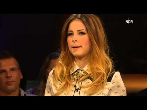 Lena Meyer-Landrut in der NDR Talkshow am 26.10.2012