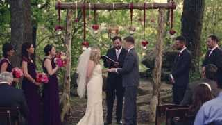 Skelly Lodge wedding {Tulsa wedding video}