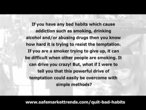 Stop Smoking - Quit Bad Habits