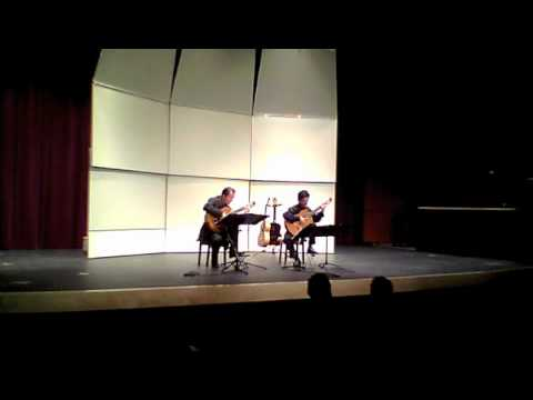 Odeum Guitar Duo - 3-04-11 - Ferdinand Carulli - Serenade - 2nd movt.