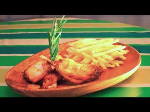 Receta fácil de Alitas de pollo al Ajillo picante
