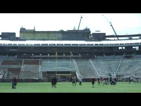 Video: 360 view of Doak Campbell Renovations in 4K