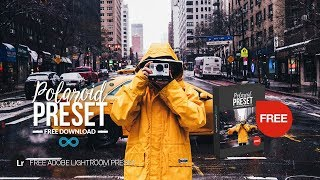 Free Polaroid Lightroom Preset Instant Film Look by Photonify
