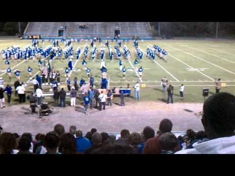 Burke High School High Steppin' Bulldog Band current and alumni members - Pre Game Part II
