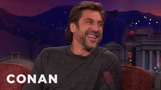 Download Lagu Javier Bardem Doesn't Know Who The Kardashians Are  - CONAN on TBS Gratis STAFABAND