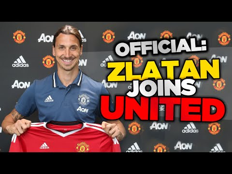 OFFICIAL: Zlatan Ibrahimović Signs For Manchester United | Internet Reacts