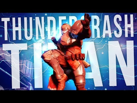 The *NEW* THUNDERCRASH Titan!  Plus More Gambit | Destiny 2 Forsaken thumbnail