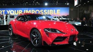 2020 Toyota Supra Walkaround And Interior!
