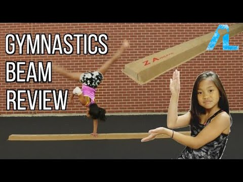 Z Athletic Gymnastics Folding Training Low Beam Review
