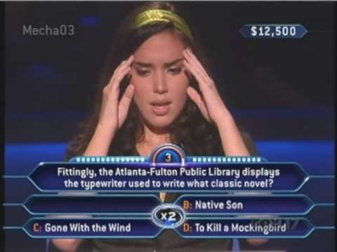 """You only have 3 seconds left.."" - Who Wants to be a Millionaire [Old Format]"