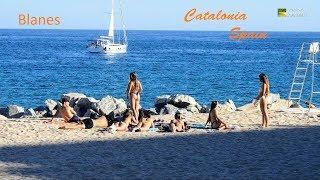 Blanes Beach Catalonia Spain