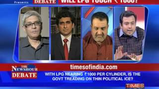 The Newshour Debate_ Will LPG touch Rs 1000? - Part 2 of 2