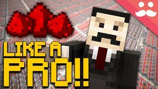 30 Things the REDSTONE PROS Do..