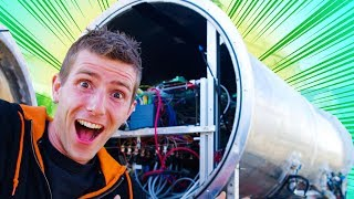 This Hyperloop Pod has REAL HOVER ENGINES
