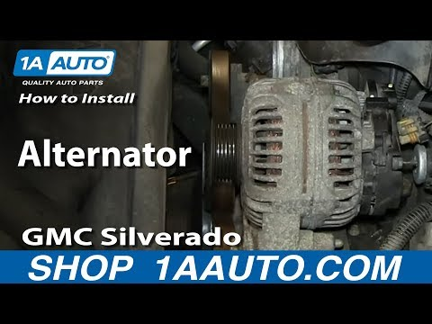 How To Install Replace Alternator 5.3L Chevy GMC Silverado Sierra Suburban Yukon