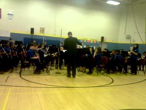 Wilde Lake Middle School Band Nice