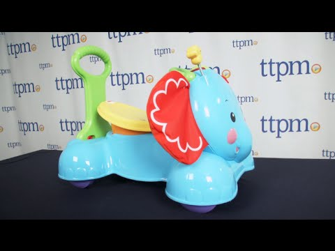 3-in-1 Bounce, Stride & Ride Elephant from Fisher-Price