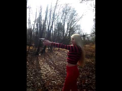 Sexiest Girl Ever To Shoot A Gun!!!