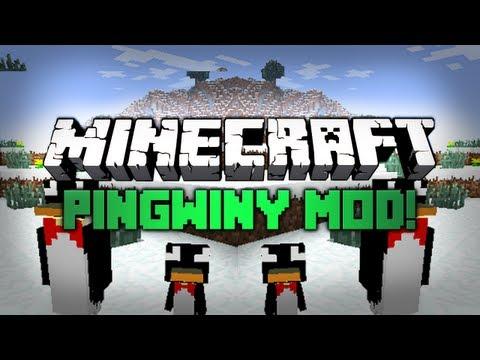 Minecraft: Mody 1.2.5 Wiecej Pingwinow Rancrafts Penguins