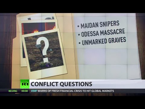 War crimes swept under carpet during Ukraine conflict?